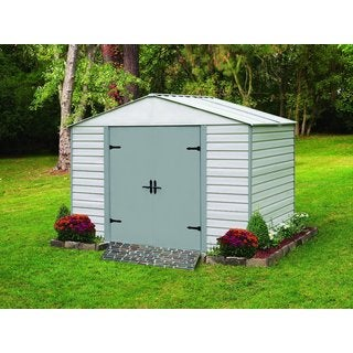 Arrow Viking Vinyl Coated Steel Shed (8' x 5')