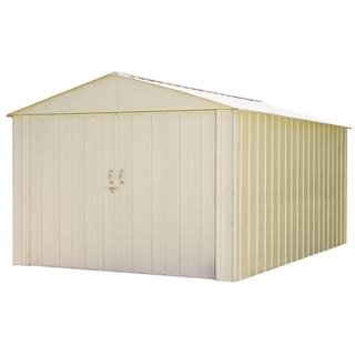Arrow Commander Hot Dipped Galvanized Steel Shed Utility Building (10' x 15')