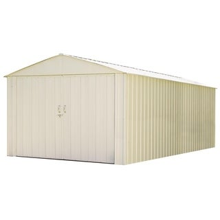 Arrow Commander Hot Dipped Galvanized Steel Shed Utility Building (10' x 25')