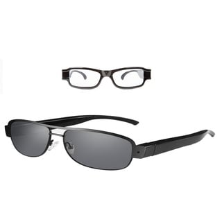 Hidden Camera Eyewear Designer sunglasses with Daytime Designer Spy Glasses with video recorder, Aud