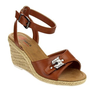 I HEART COLLECTIONEspadrilles Ankle Strap Sandals