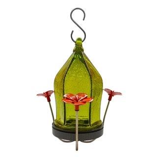Nature's Way Advanced Bird Products Crackled Jewel Hummingbird Feeder (Green)
