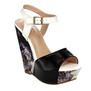 I HEART COLLECTION ELLA-02 Ankle Strap Sandals