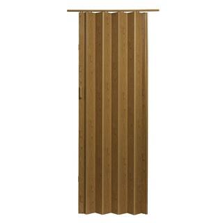 Oak Brown Folding Door