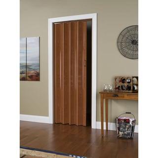 Pecan Brown 48 Inch X 80 Inch Folding Door