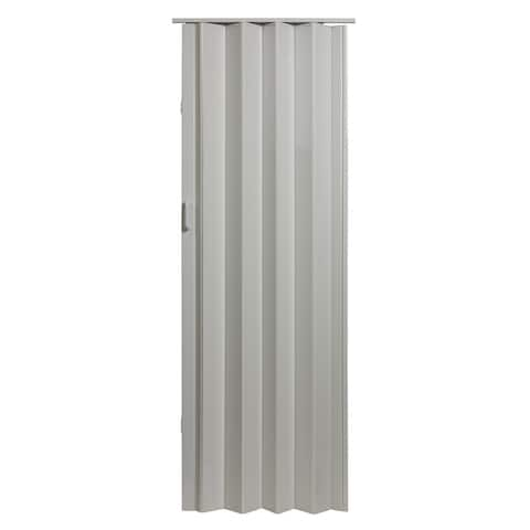 48 Inch x 80 Inch Folding Door in White