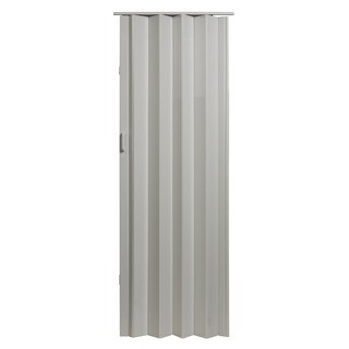 Spectrum White Vinyl Folding Door