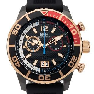 Brandt & Hoffman Bayliss Men's Swiss Ronda Quartz Chronograph Textured Dial Superluminova Watch