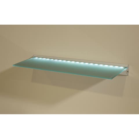 LED Clear Glass Lighted Shelf Kit