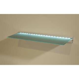 LED Clear Glass Lighted Shelf Kit