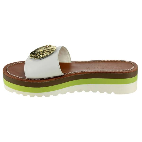 Shop Miss Trish Of Capri Women S Slp On Sandals Free