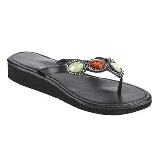 Olivia Miller Women's Wedge Sandals