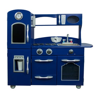 Teamson Kids Navy Blue Play Kitchen