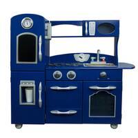 Teamson Kids Navy Blue Play Kitchen