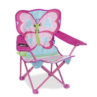 Melissa and Doug Cutie Pie Butterfly Camp Chair