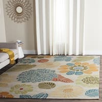 Safavieh Hand-Hooked Four Seasons Ivory Floral Rug - 5' x 7'
