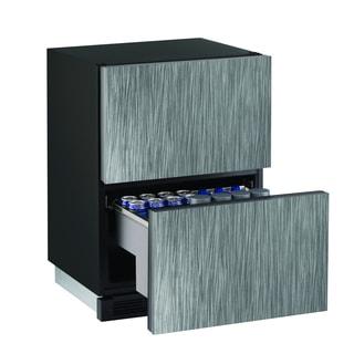 U-Line 1000 Series 1224 24-inch Integrated Refrigerator Drawers