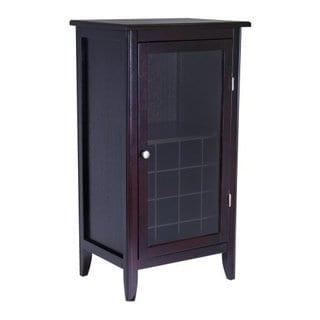Ryan Glass Door 16 Bottle Wine Cabinet