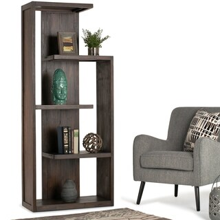 WYNDENHALL Garret Distressed Wood Bookcase