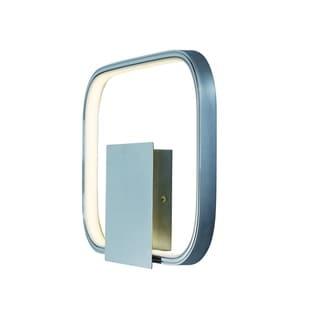 Squared 1-light LED Polished Chrome Wall Sconce