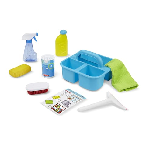 Melissa & Doug® Let's Play House Spray, Squirt & Squeegee Play Set