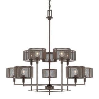 Capital Lighting Bennett Collection 10-light Russet Chandelier