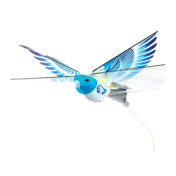 Mukikim eBird Blue Pigeon - 2.4GHz award winning flying bird