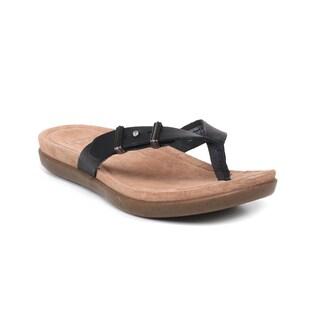 UGG Australia Women's Black Sela Sandals