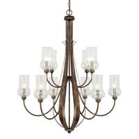 Capital Lighting Rowan Collection 10-light Rustic Chandelier