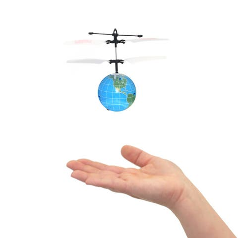 Mini Flyer World - Infrared Indoor flying toy - Blue/Green