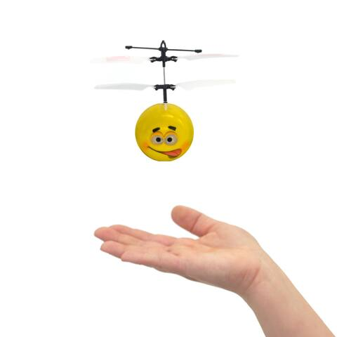 Mini Flyer Jokey - Infrared Indoor flying toy - Yellow