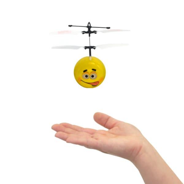 Mini Flyer Jokey - Infrared Indoor flying toy - Yellow