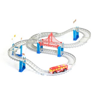 Mukikim Build-a-Track Shuttle Bus