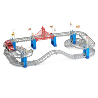 Mukikim Build A Track City Ride. Build The Track and Watch the car drive. - multi