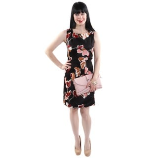 Hadari Women's Shift Floral Fashion Dress