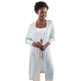 Hadari Women's Knit Long Cardigan (One Size)