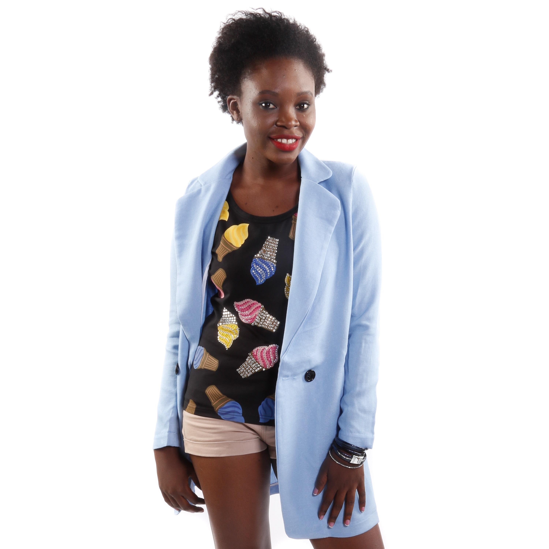 Hadari Women's Petite Solid Color Fashion Blazer (One Siz...
