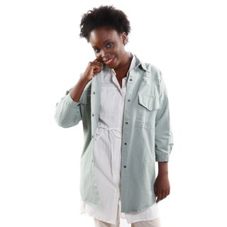Hadari Women's Mid Sleeve Boho Feel Fashion Jacket
