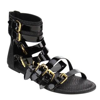 Wild Diva Strappy Gladiator Sandal