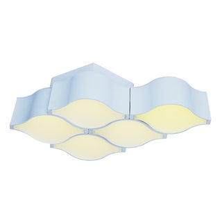 Billow 5-light LED Matte White Wall Sconce