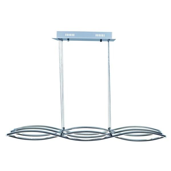50w Led Shop Pendant Light Fixture Strip Linear Ceiling: Wake LED Linear Pendant Light Fixture
