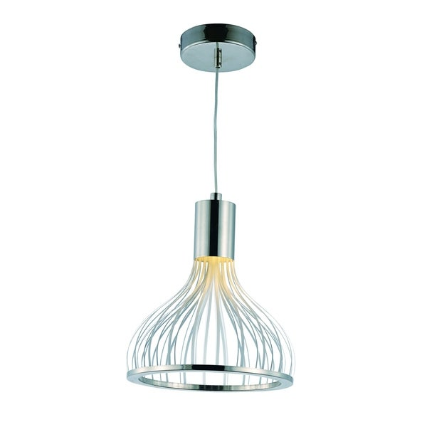 Shop Turbo LED Single Pendant Light Fixture - Free Shipping Today ...