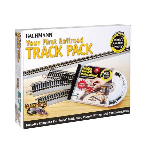 Bachmann Trains Nickel Silver World's Greatest Hobby First Railroad Track Pack HO Scale