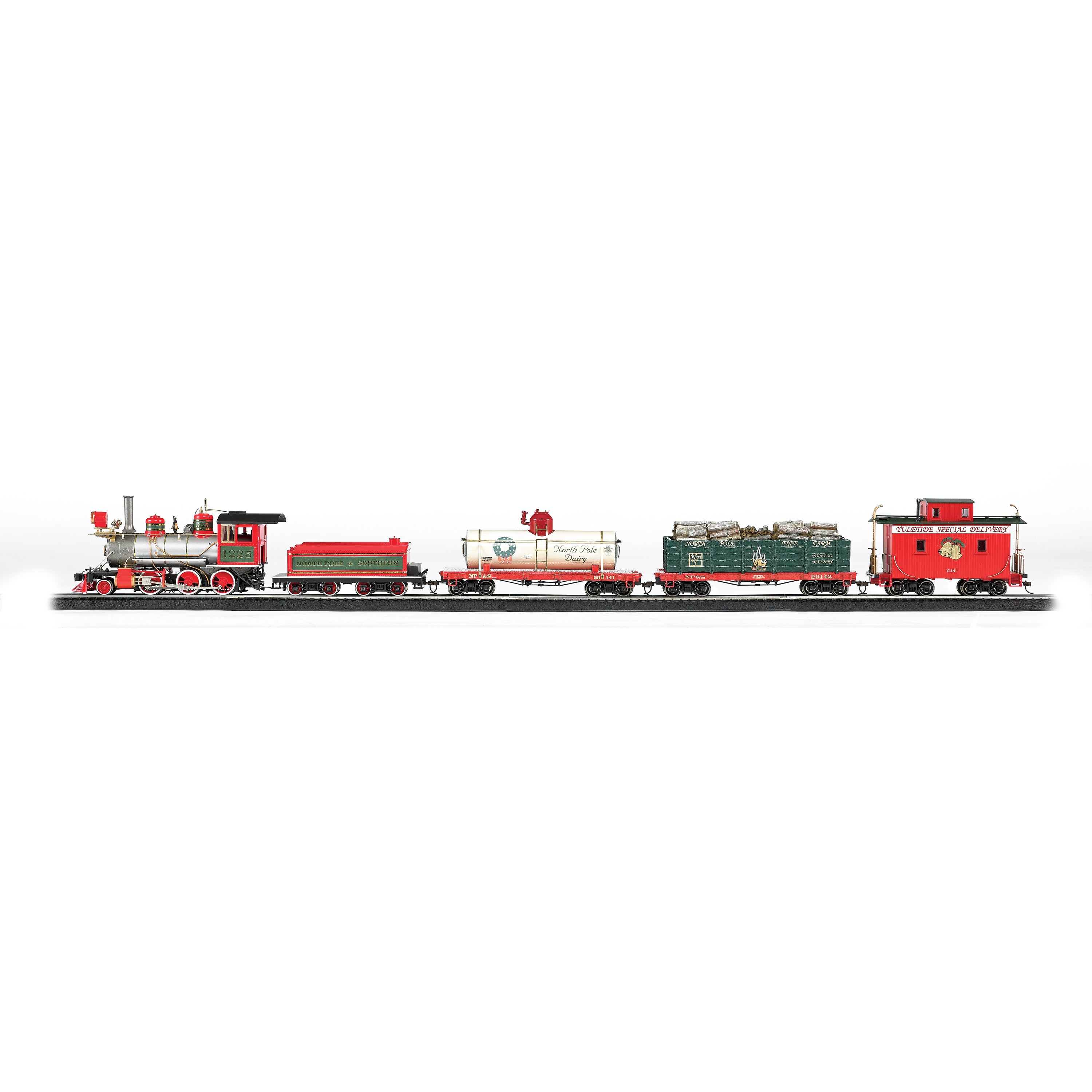 Bachmann Trains Yuletide Special Delivery On30 Scale Read...
