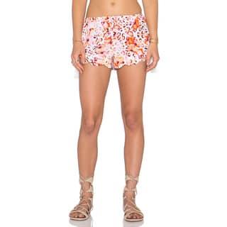 Minkpink Sea Animal Pink Floral Tassel Shorts|https://ak1.ostkcdn.com/images/products/11711633/P18633634.jpg?impolicy=medium