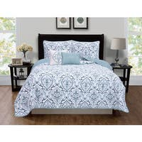 Home Fashion Designs Deena Collection 5-piece Quilt Set with Shams and Decorative Pillows