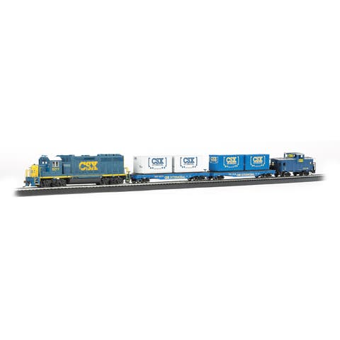 Bachmann Trains Coastliner HO Scale Ready To Run Electric Train Set