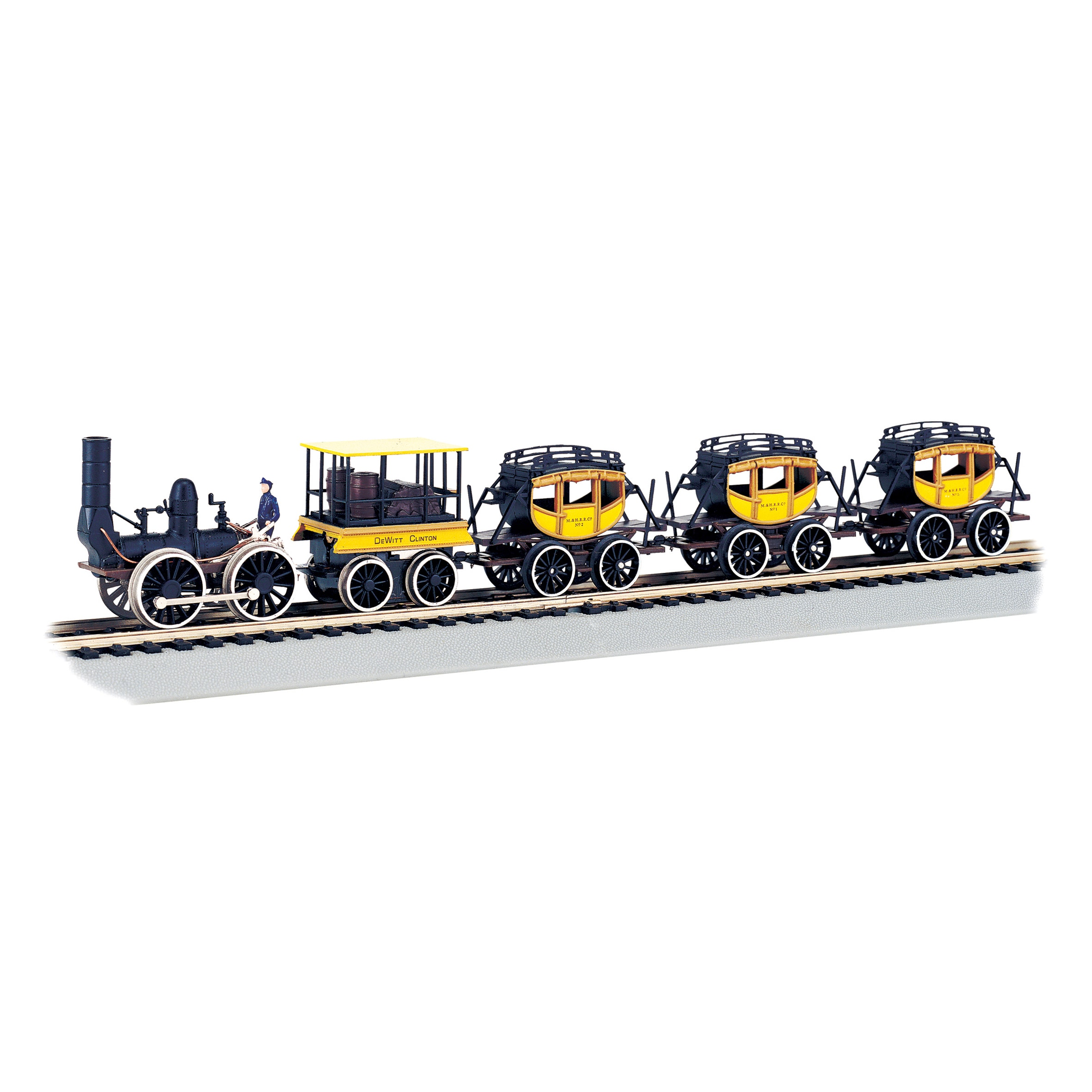 Bachmann Trains Dewitt Clinton HO Scale Ready To Run Elec...