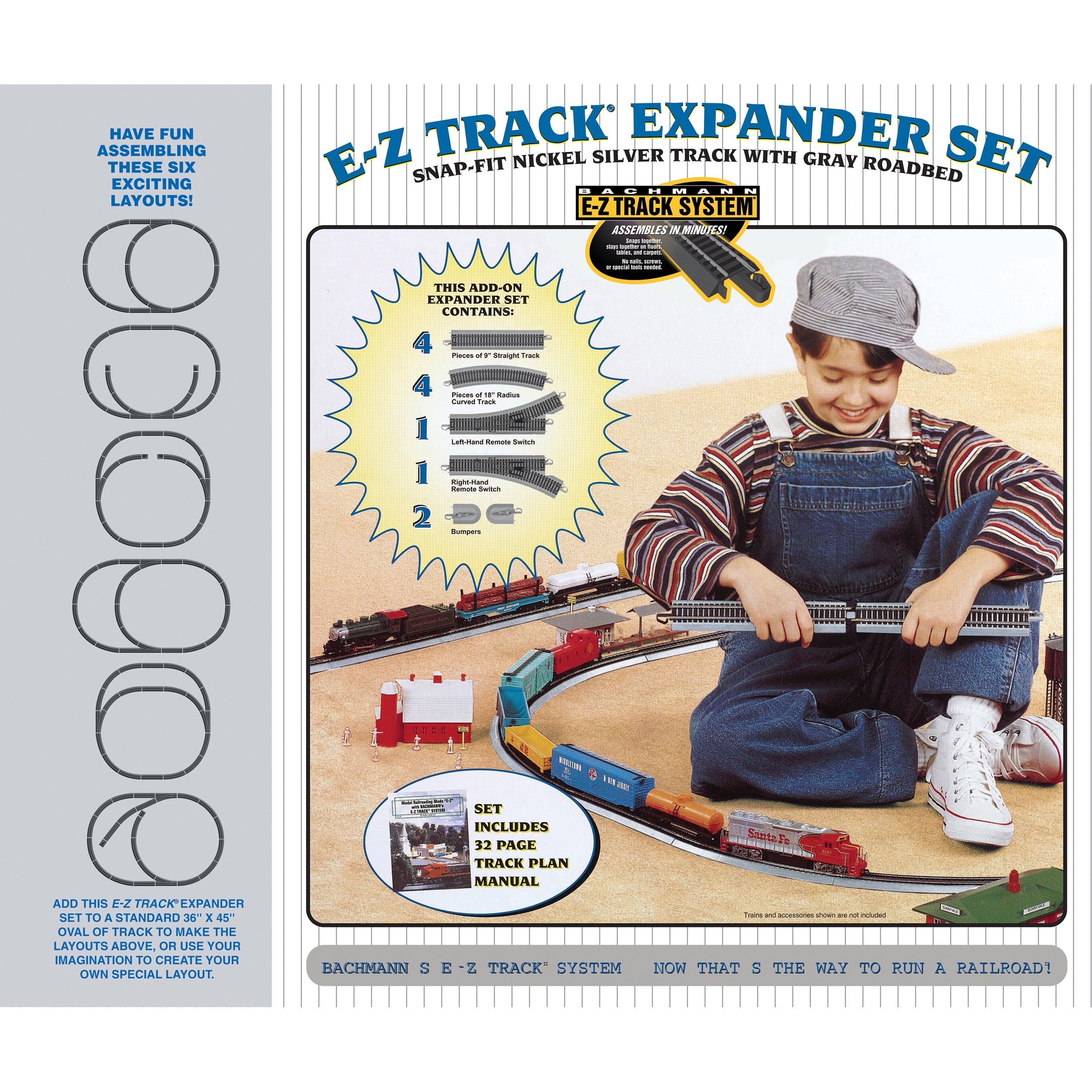 Bachmann Trains Nickel Silver E-Z Track Layout Expander S...