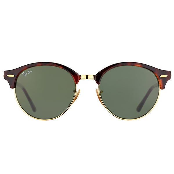 RB RB4246 Clubround Sunglasses Red Havana//Green 51mm /& Care Kit